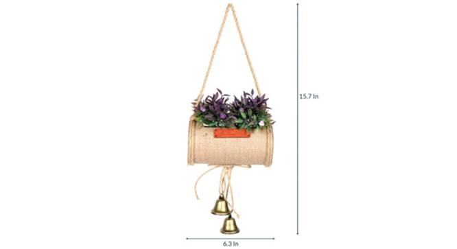 Duff Artificial Plant (Purple) by Urban Ladder - Design 1 Side View - 315213