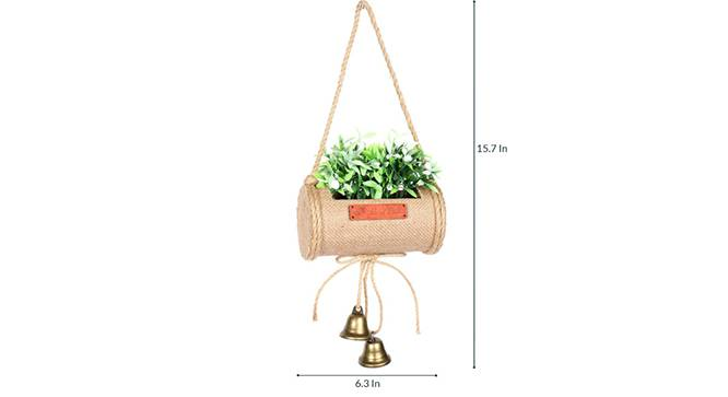 Duff Artificial Plant (White) by Urban Ladder - Design 1 Side View - 315216