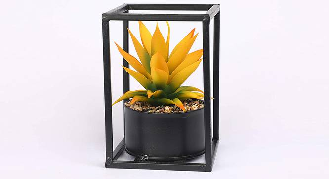 Virgat Artificial Plant (Yellow) by Urban Ladder - Front View Design 1 - 315258