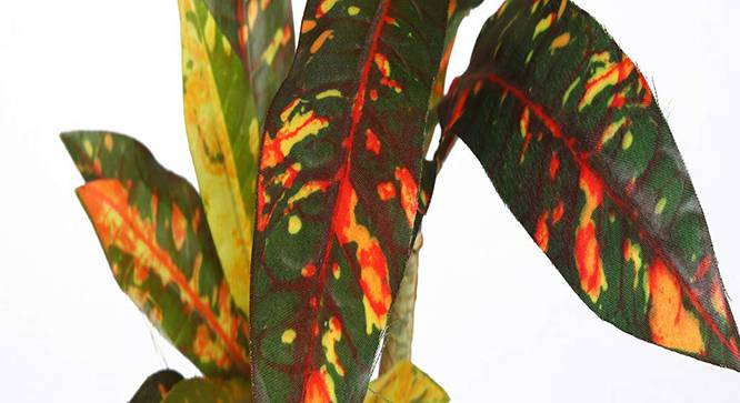 Montana Artificial Plant (Red) by Urban Ladder - Design 1 Side View - 315285