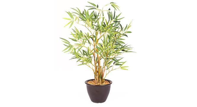 Buke Artificial Plant (Green) by Urban Ladder - Front View Design 1 - 315317