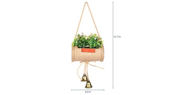 Jali Artificial Plant (Pink) by Urban Ladder - Design 1 Side View - 315350