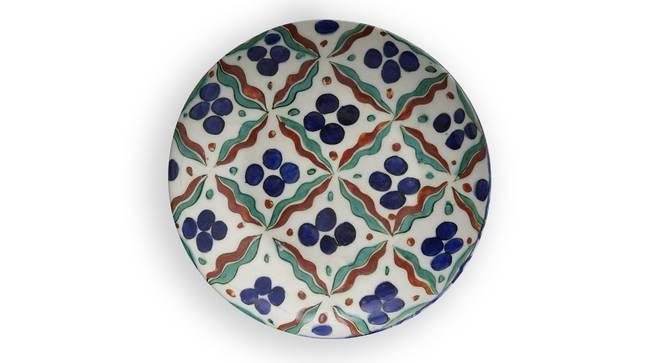 "Deste Wall Plate (Round Shape, 20 x 20 cm (8"" x 8"") Size) by Urban Ladder - Front View Design 1 - 315389"
