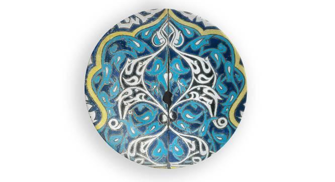 "Devrim Wall Plate (Round Shape, 20 x 20 cm (8"" x 8"") Size) by Urban Ladder - Front View Design 1 - 315392"