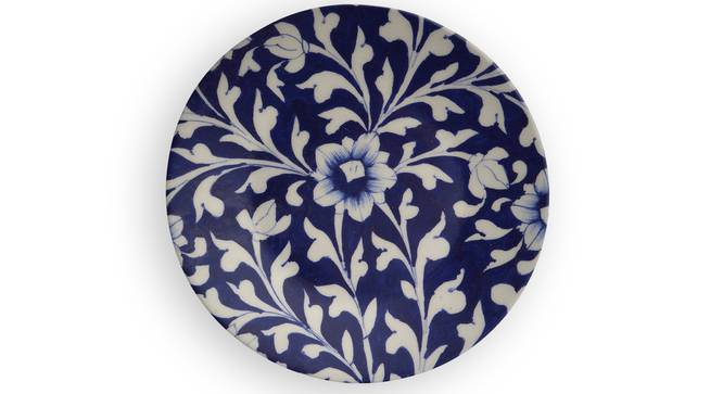 """Cicek Wall Plate (Round Shape, 20 x 20 cm (8"""" x 8"""") Size) by Urban Ladder - Front View Design 1 - 315439"""