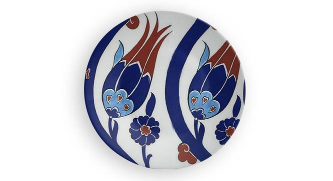 """Mavi Wall Plate (Round Shape, 20 x 20 cm (8"""" x 8"""") Size) by Urban Ladder - Front View Design 1 - 315492"""