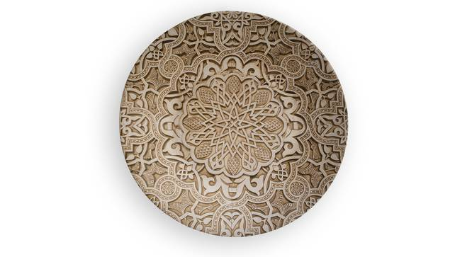 """Royal Art Wall Plate (Round Shape, 20 x 20 cm (8"""" x 8"""") Size) by Urban Ladder - Front View Design 1 - 315508"""