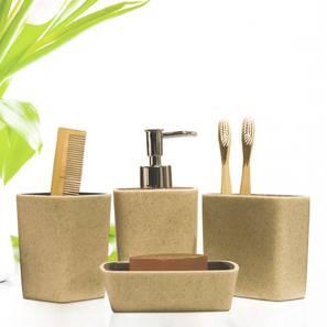Timeo Bath Accessories Set by Urban Ladder - Design 1 - 315845