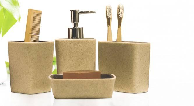 Timeo Bath Accessories Set by Urban Ladder - Front View Design 1 - 315846