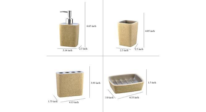 Timeo Bath Accessories Set by Urban Ladder - Design 1 Side View - 315847