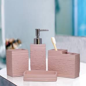 Tobias Bath Accessories Set (Pink) by Urban Ladder - Design 1 - 315848