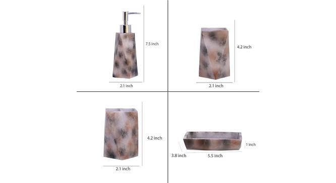 Charlotte Bath Accessories Set by Urban Ladder - Design 1 Side View - 315925