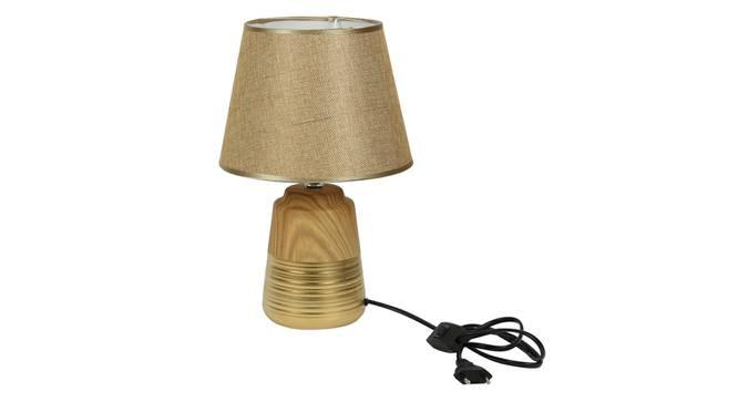 Zeynep Table Lamp (Beige Finish) by Urban Ladder - Design 1 Side View - 315943