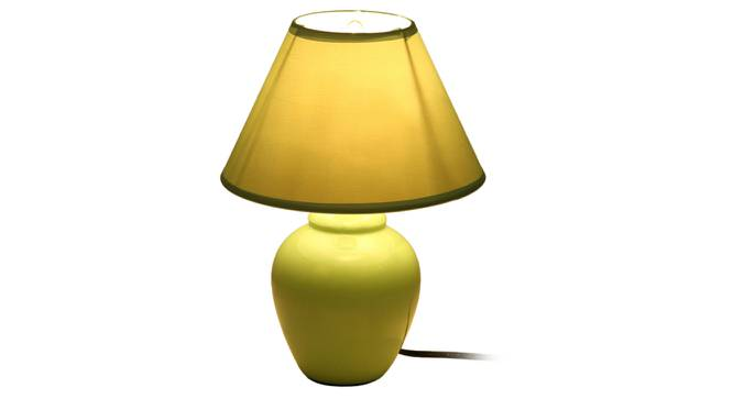 Miray Table Lamp (Green Finish) by Urban Ladder - Front View Design 1 - 315950
