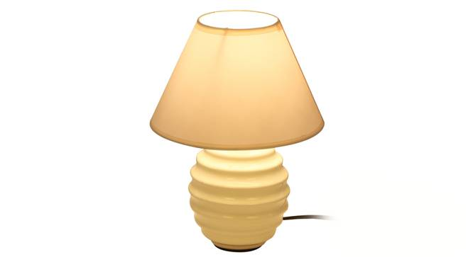 Belinay Table Lamp (White Finish) by Urban Ladder - Front View Design 1 - 315988