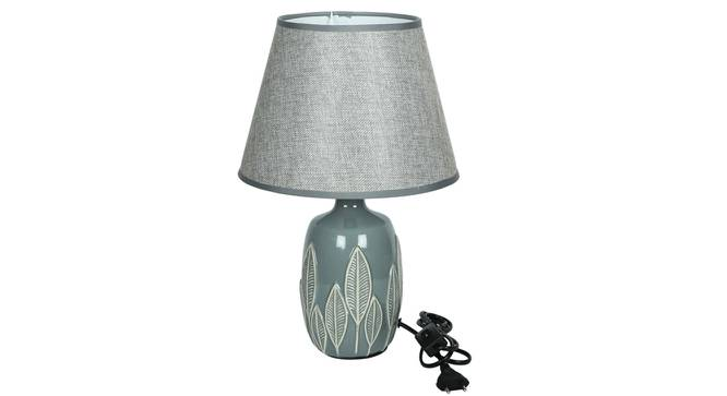Beren Table Lamp (Grey Finish) by Urban Ladder - Design 1 Side View - 316001