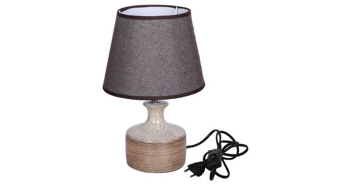 Ayse Table Lamp (Beige Finish) by Urban Ladder - Design 1 Side View - 316007