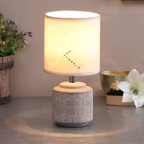 Buglem Table Lamp (White Finish) by Urban Ladder - Design 1 - 316008
