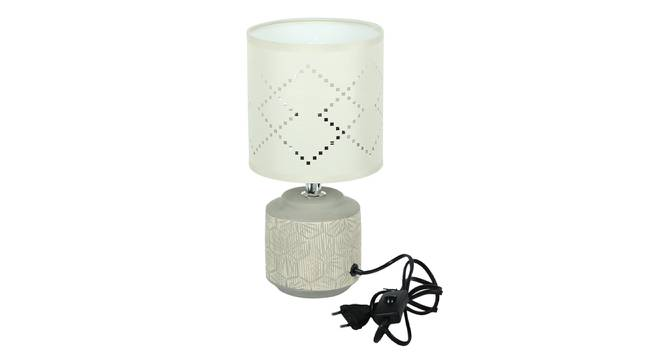 Buglem Table Lamp (White Finish) by Urban Ladder - Design 1 Side View - 316010