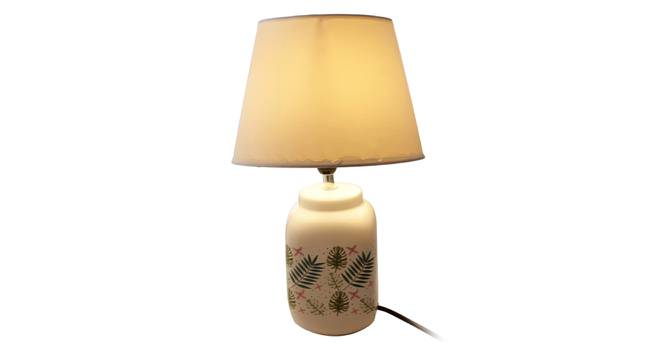 Esila Table Lamp (White Finish) by Urban Ladder - Front View Design 1 - 316042
