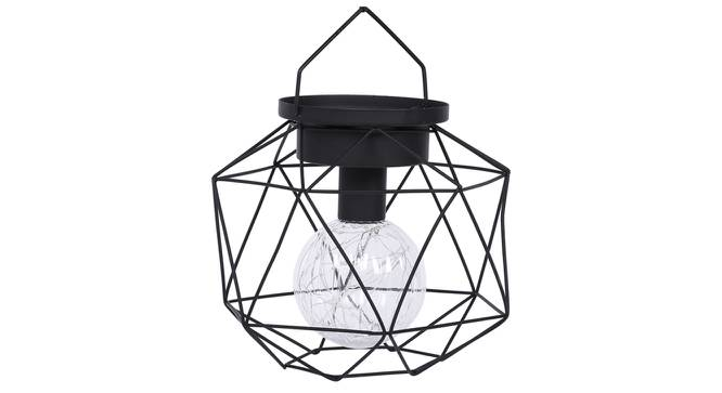 Emine Table Lamp (Black Finish) by Urban Ladder - Design 1 Side View - 316049