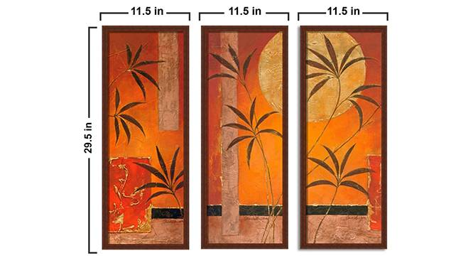 Pinoi Wall Art by Urban Ladder - Design 1 Side View - 316145