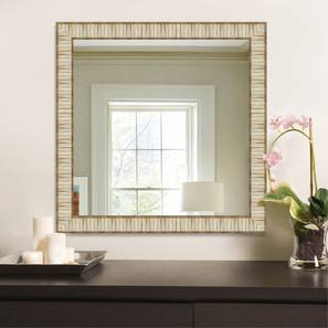 Kanan Mirror (Cream) by Urban Ladder - Design 1 - 316225
