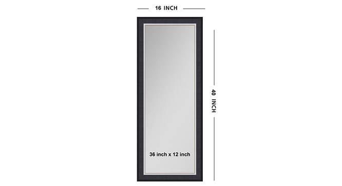 Janani Mirror (Purple) by Urban Ladder - Front View Design 1 - 316241