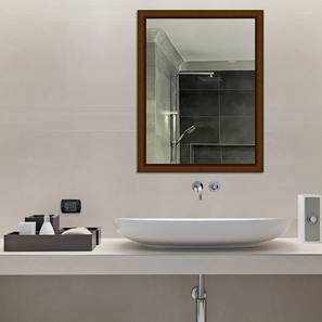 Arande Bathroom Mirror (Brown) by Urban Ladder - Design 1 - 316255