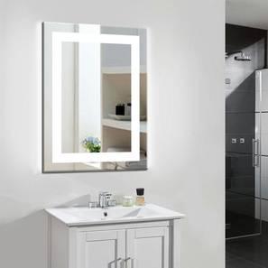 Cala Bathroom Mirror (Silver) by Urban Ladder - Design 1 - 316276