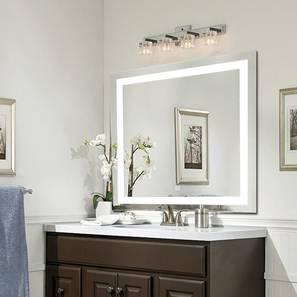 Catalina Bathroom Mirror (Silver) by Urban Ladder - Design 1 - 316282