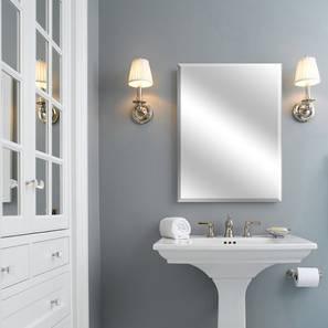 Daria Bathroom Mirror (Silver) by Urban Ladder - Design 1 - 316303