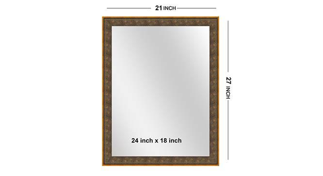Triya Mirror (Purple) by Urban Ladder - Front View Design 1 - 316322