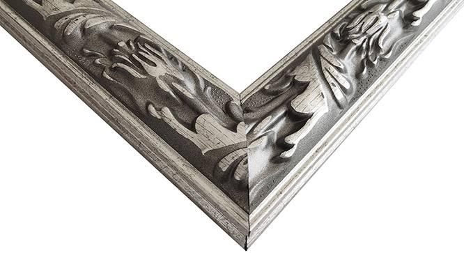 Urvi Mirror (Silver) by Urban Ladder - Design 1 Side View - 316332