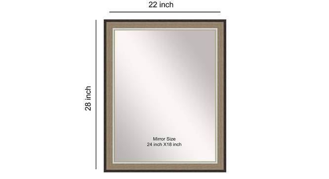 Tejal Mirror (Cream) by Urban Ladder - Front View Design 1 - 316334
