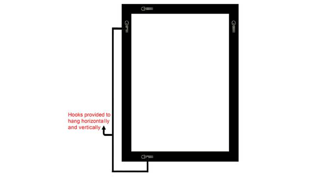 Tejal Mirror (Cream) by Urban Ladder - Design 1 Side View - 316335