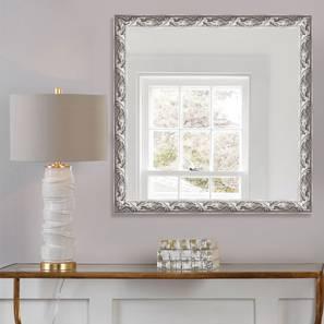 Samidh Mirror (Silver) by Urban Ladder - Design 1 - 316339
