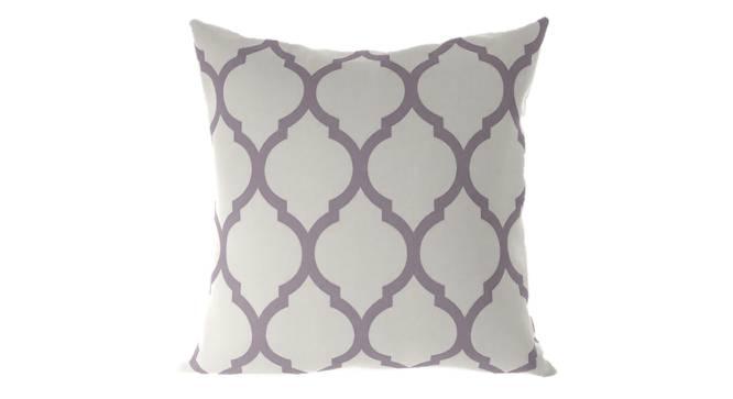 "Taj Cushion Cover - Set Of 2 (Purple, 41 x 41 cm  (16"" X 16"") Cushion Size) by Urban Ladder - Front View Design 1 - 316396"