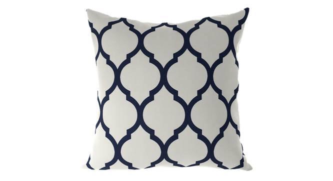 "Taj Cushion Cover - Set Of 2 (Indigo, 46 x 46 cm  (18"" X 18"") Cushion Size) by Urban Ladder - Front View Design 1 - 316399"