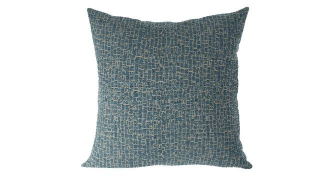 """Bark Cushion Cover - Set Of 2 (Blue, 41 x 41 cm  (16"""" X 16"""") Cushion Size) by Urban Ladder - Front View Design 1 - 316402"""
