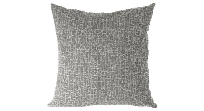 """Bark Cushion Cover - Set Of 2 (Grey, 41 x 41 cm  (16"""" X 16"""") Cushion Size) by Urban Ladder - Front View Design 1 - 316407"""