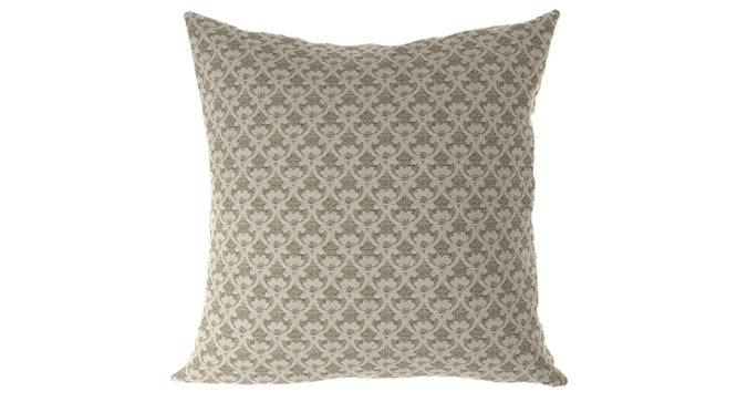 "Gardenia Cushion Cover - Set Of 2 (Brown, 46 x 46 cm  (18"" X 18"") Cushion Size) by Urban Ladder - Front View Design 1 - 316473"