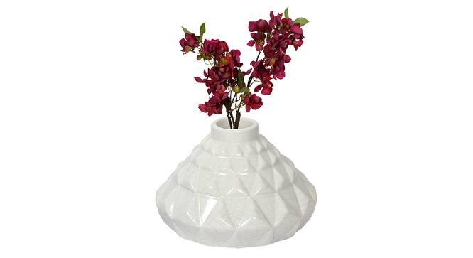 Jack Vase (White) by Urban Ladder - Design 1 Full View - 316818