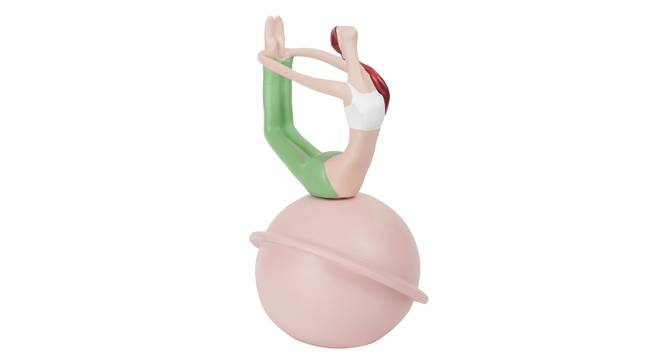 Janu Figurine (Pink) by Urban Ladder - Design 1 Full View - 316947