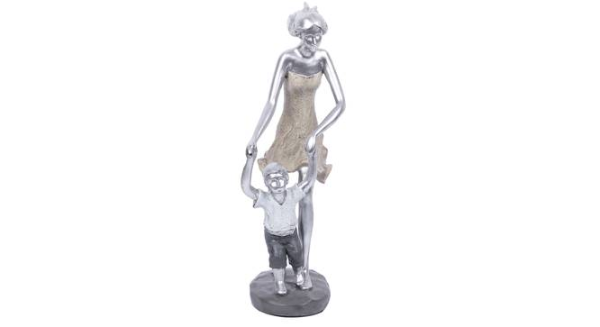 Maira Statue (Silver) by Urban Ladder - Design 1 Full View - 317117