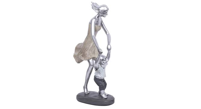 Maira Statue (Silver) by Urban Ladder - Front View Design 1 - 317118