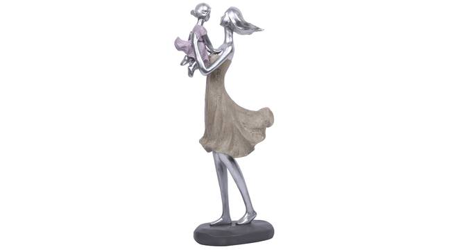 Meera Statue (Silver) by Urban Ladder - Design 1 Full View - 317129