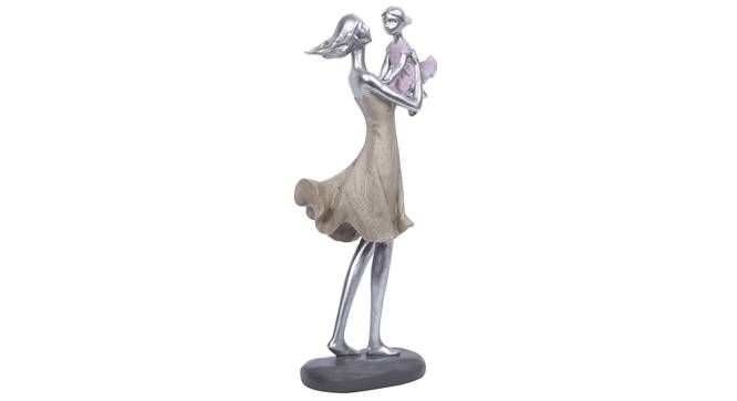 Meera Statue (Silver) by Urban Ladder - Front View Design 1 - 317130