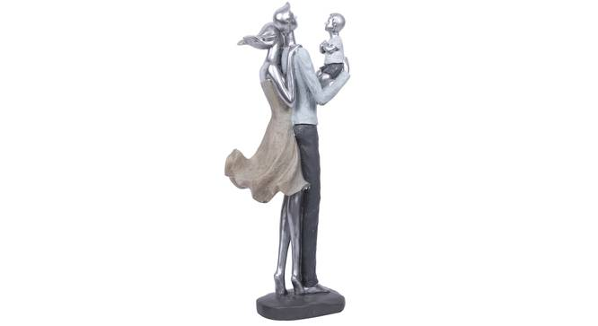 Mihira Statue (Grey) by Urban Ladder - Front View Design 1 - 317150