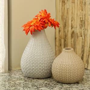 Dario2 vase creamwhite lp
